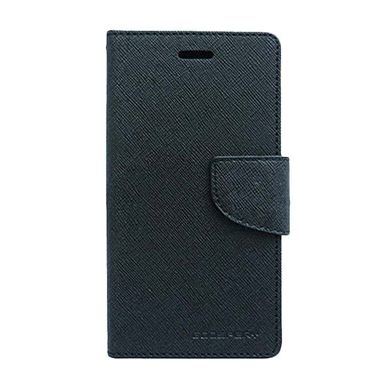 Mercury Goospery Fancy Diary Black Casing for Xiaomi RedMi 1S