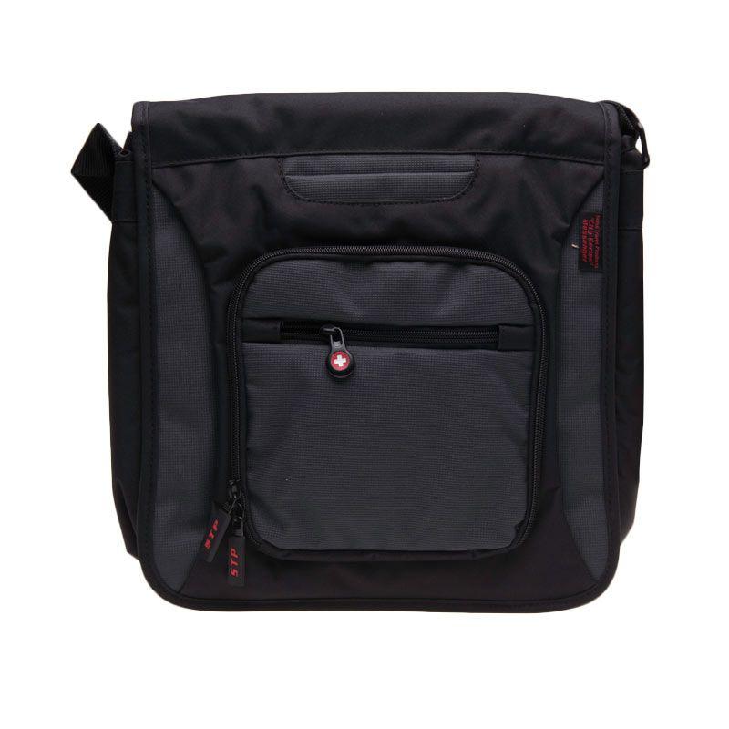 Swiss Travel City Series Messenger SBC-CITYM01 Black Tas Laptop