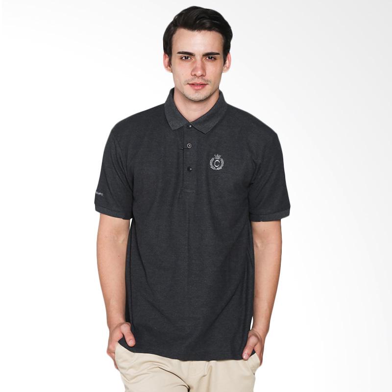 Contempo Men B1215L02-B15 Internal Short Sleeve Polo Shirt - Black Extra diskon 7% setiap hari Citibank – lebih hemat 10% Extra diskon 5% setiap hari
