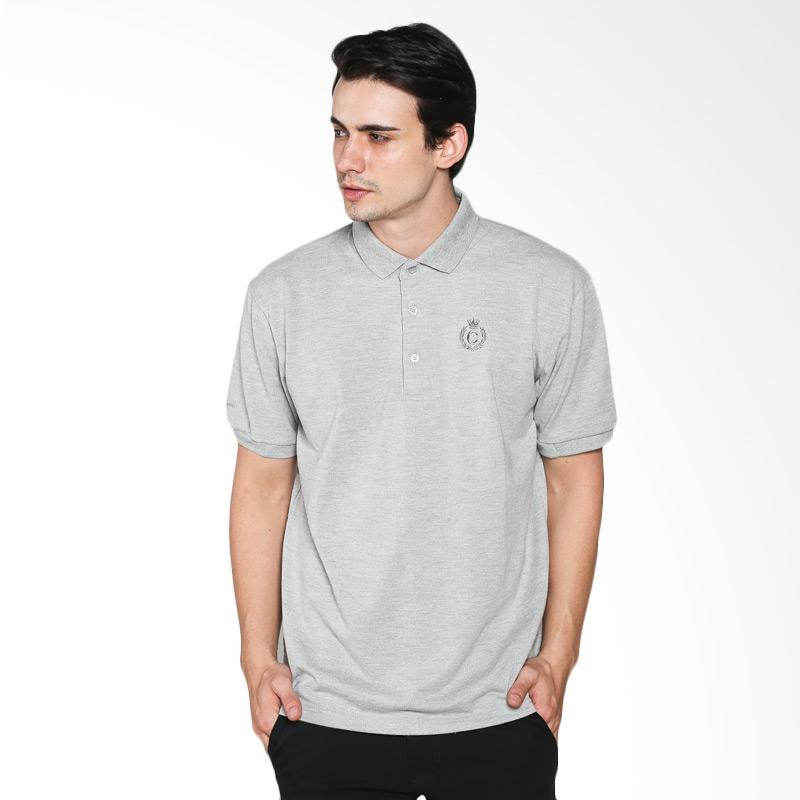 Contempo Men B1215L02-B15 Internal Short Sleeve Polo Shirt Gray Extra diskon 7% setiap hari Extra diskon 5% setiap hari Citibank – lebih hemat 10%
