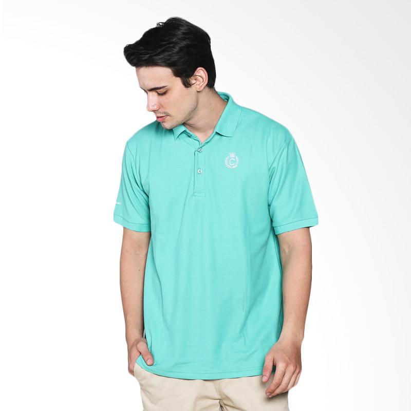 Contempo Men B1215F01-A15 Internal Short Sleeve Polo Shirt - Green Extra diskon 7% setiap hari Extra diskon 5% setiap hari Citibank – lebih hemat 10%