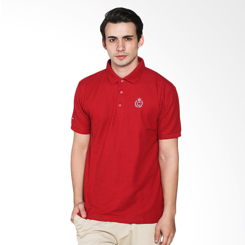 Contempo Men B1215L02-B15 Internal Short Sleeve Polo Shirt Red Extra diskon 7% setiap hari Extra diskon 5% setiap hari Citibank – lebih hemat 10%
