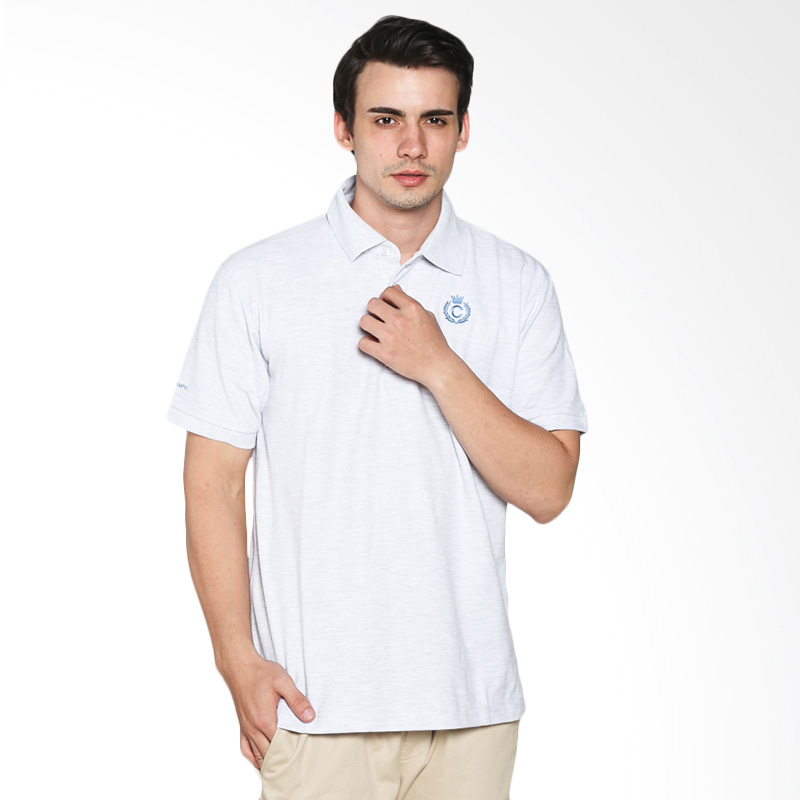 Contempo Men B1215F01-A15 Internal Short Sleeve Polo Shirt - White Extra diskon 7% setiap hari Extra diskon 5% setiap hari Citibank – lebih hemat 10%