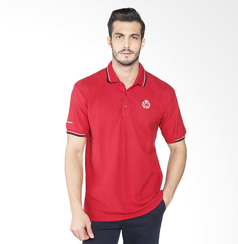 Contempo B1216I01-B15 Men Poloshirt - Maroon Extra diskon 7% setiap hari Extra diskon 5% setiap hari Citibank – lebih hemat 10%