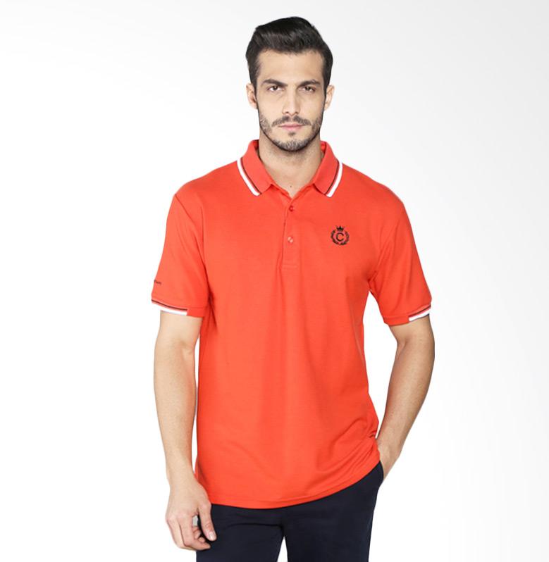 Contempo B1216I01-B15 Men Poloshirt - Orange Extra diskon 7% setiap hari Extra diskon 5% setiap hari Citibank – lebih hemat 10%