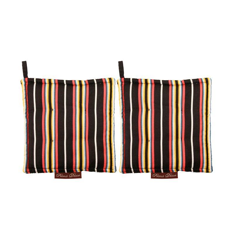 Prima Decor Stripe Mitten Peralatan Masak [2 Pcs]