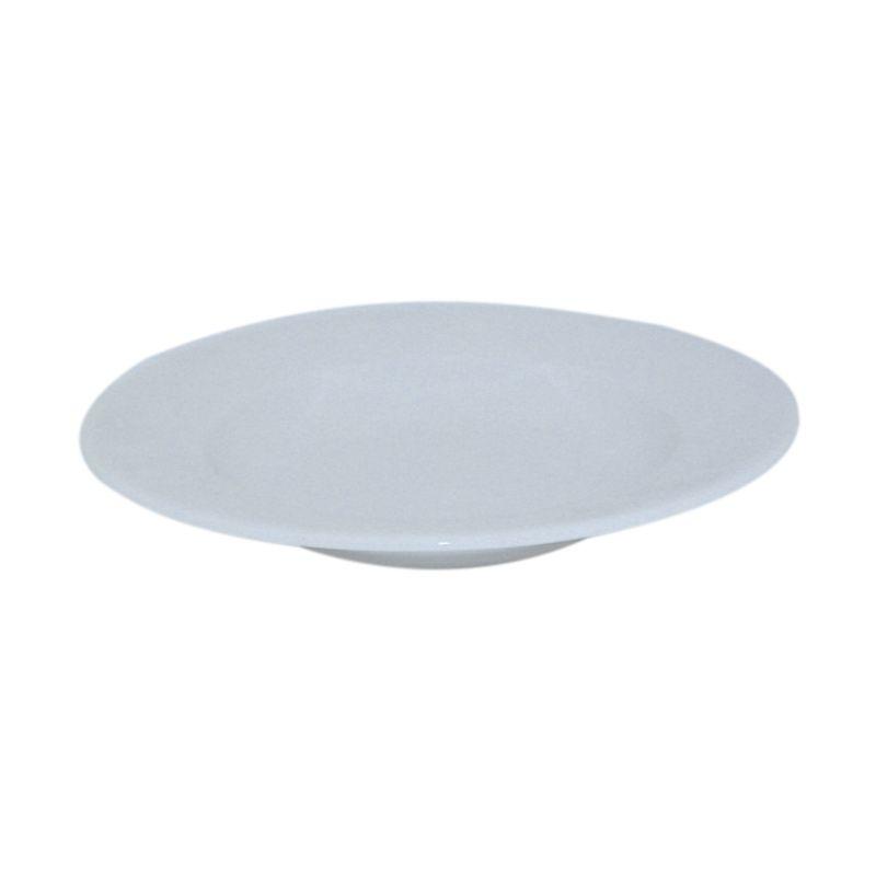 St James Atlas Vegetable Plate White Piring [11.5