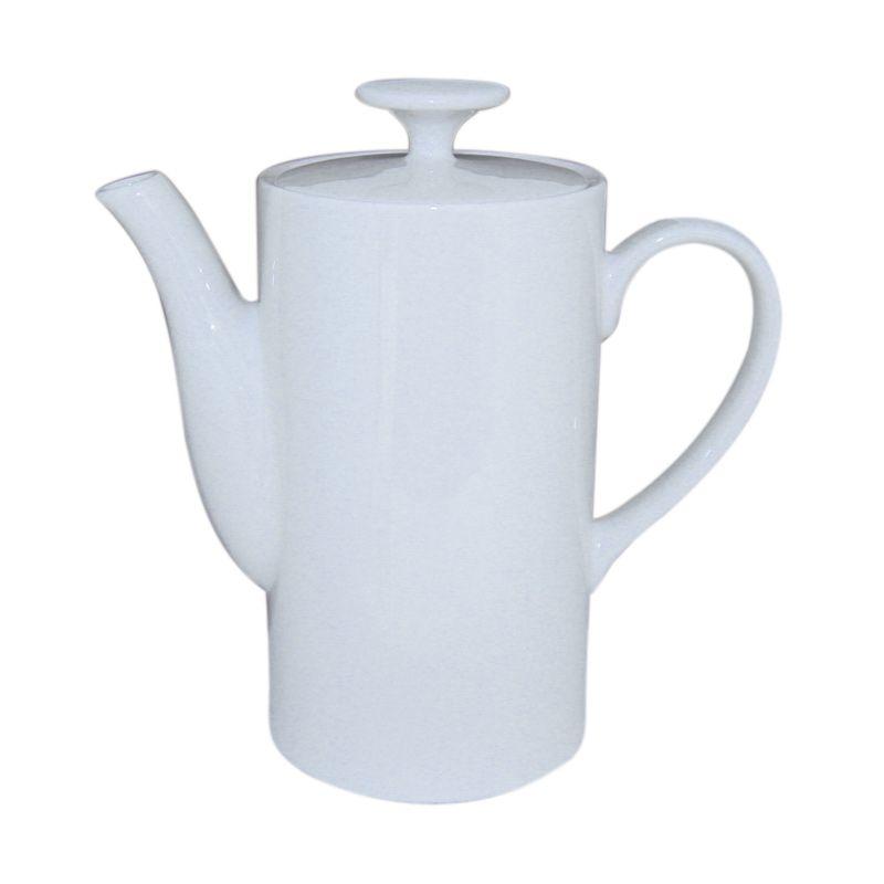 St James President Tea Pot M White Teko