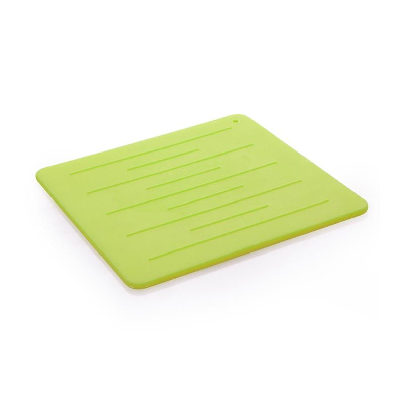 CH Silicone Trivet Green