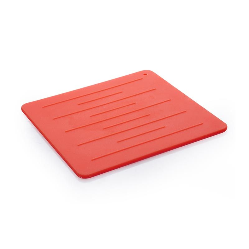 CH Silicone Trivet Red