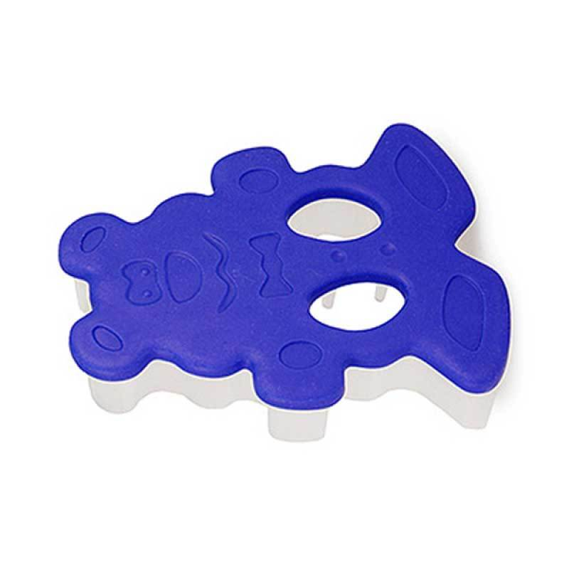 CH Teddy Bear Cookie Cutter Blue