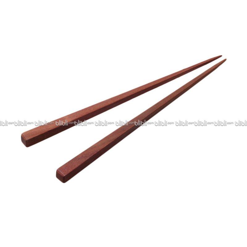 Cooks Habit Chopsticks Square Sawo Large (2 pairs)