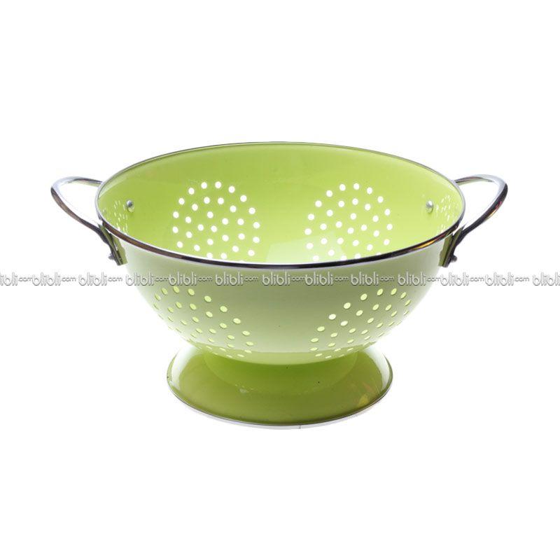 Cooks Habit Colander 3 QT Coating Light Green
