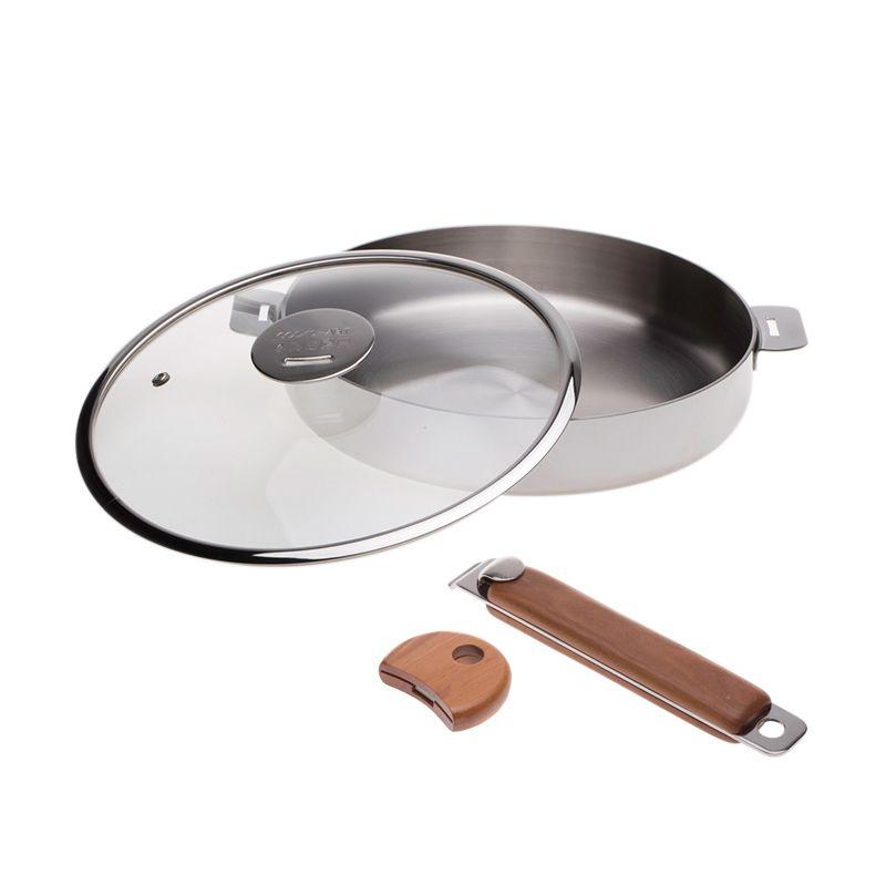 Cooks Habit Declad Covered Sautepot Panci [26 x 5 cm]