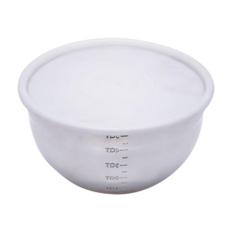 Cooks Habit Mixing Bowl with Cover Mangkuk Takar [3 Qt]
