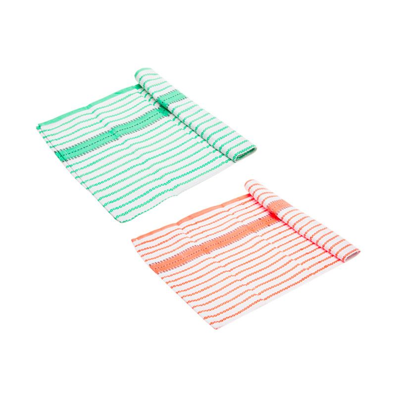 harga Cooks Habit CoZack Kette Green Orange Serbet [2 Pcs] Blibli.com