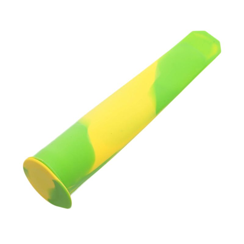 Cooks Habit Silicone Ice Pop Makers Green Yellow Cetakan Kue