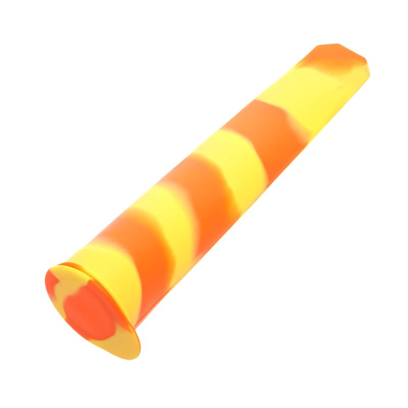 Cooks Habit Silicone Ice Pop Makers Orange Yellow Cetakan Kue