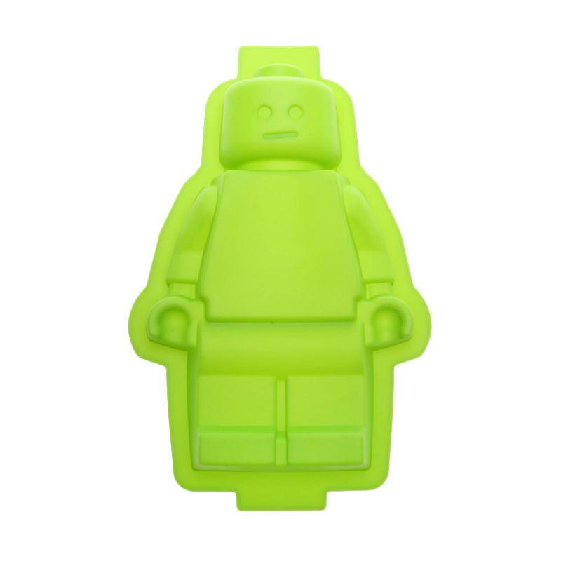 Cooks Habit Silicone Mould Bigger Guy Green Cetakan Kue