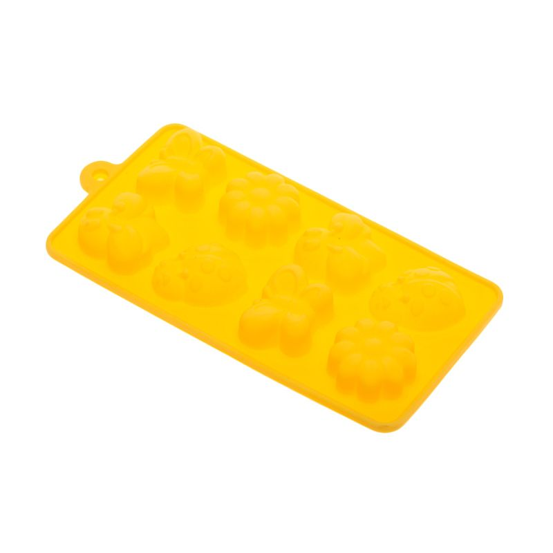 Cooks Habit Silicone Mould My Garden Yellow Cetakan Kue