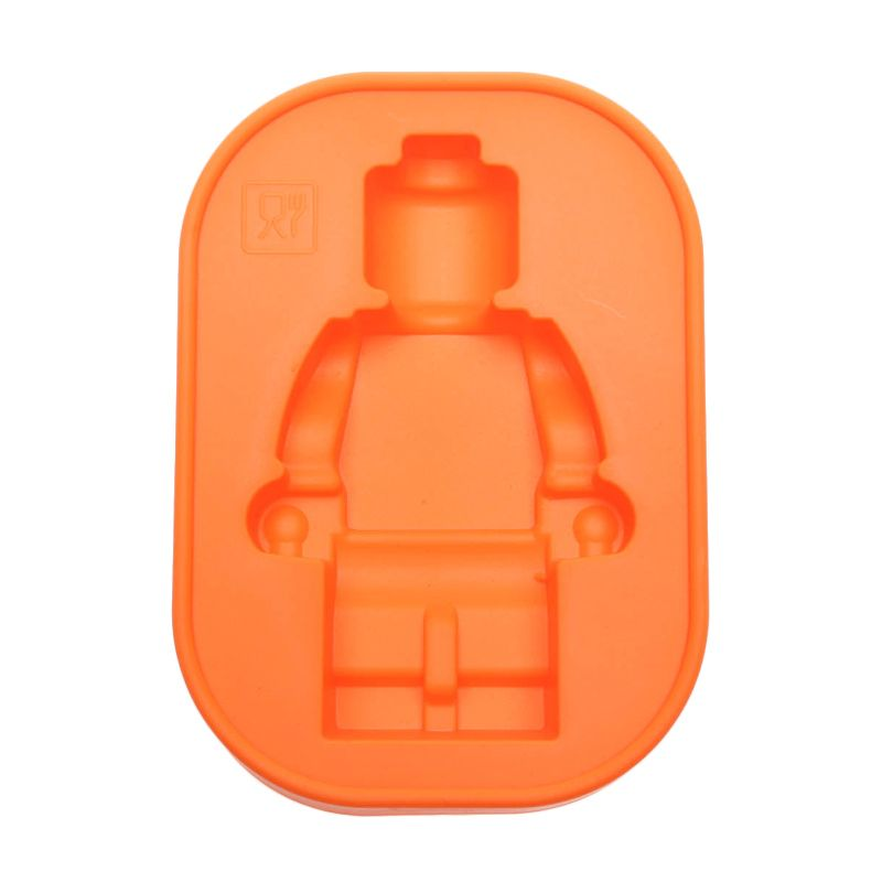Cooks Habit Silicone Mould Smaller Guy Orange Cetakan Kue