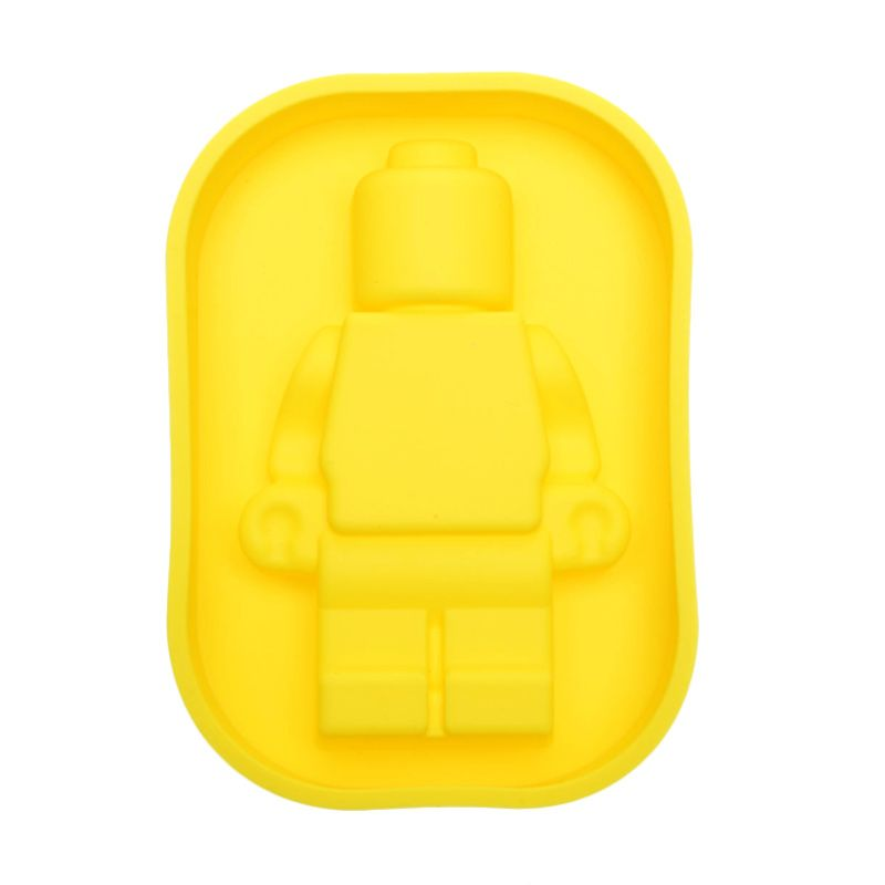 Cooks Habit Silicone Mould Smaller Guy Yellow Cetakan Kue