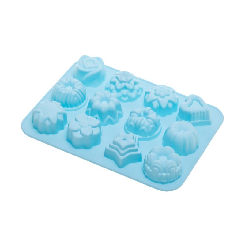 Cooks Habit Silicone Mould Variety Blue Cetakan Kue