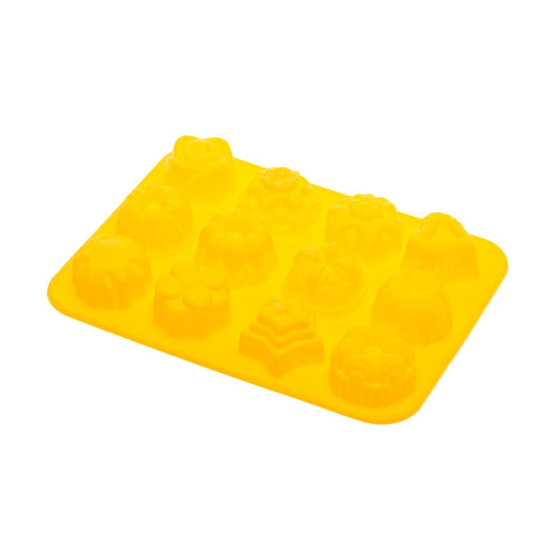 Cooks Habit Silicone Mould Variety Yellow Cetakan Kue