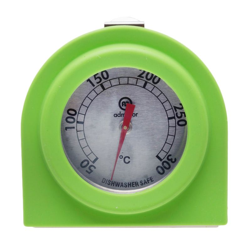 Cooks Habit With Silicone Green Oven Thermometer