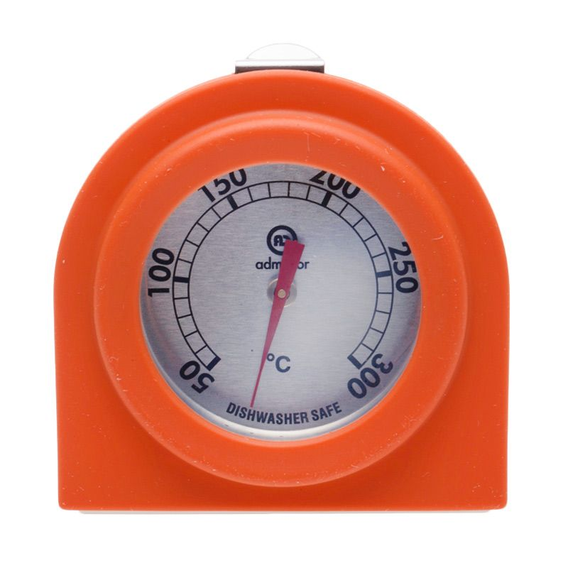 Cooks Habit With Silicone Orange Oven Thermometer