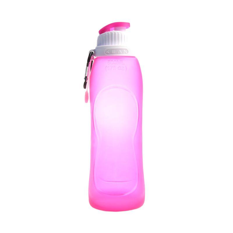 KEAN Foldable Pink Botol Minum