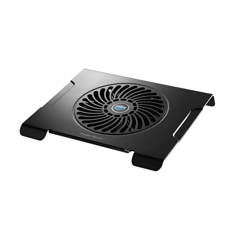 Cooler Master Silent Fan Notepal CMC-3 Cooling Pad for Notebook - Hitam [15 Inch]