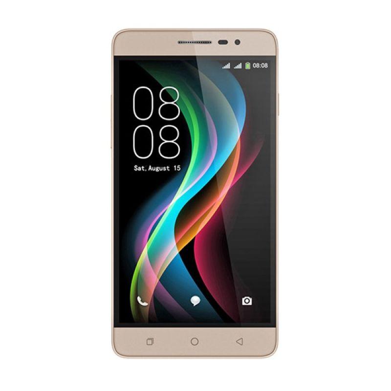 Coolpad Shine R106 Smartphone - Gold [8GB/ 2GB]
