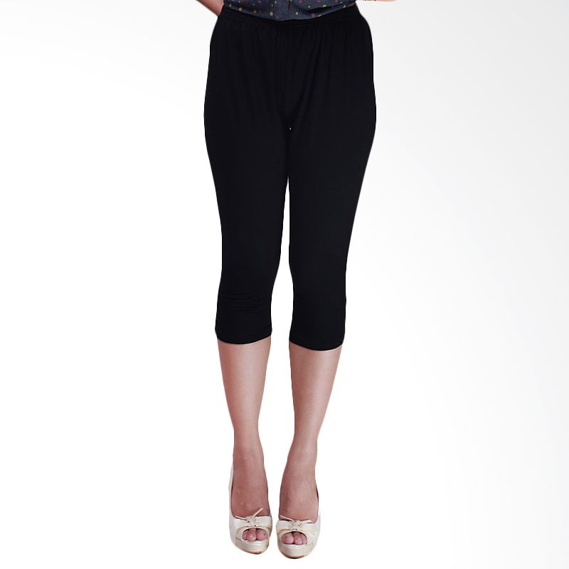 Copas Special Black Cotton Spandex 7/8 Legging