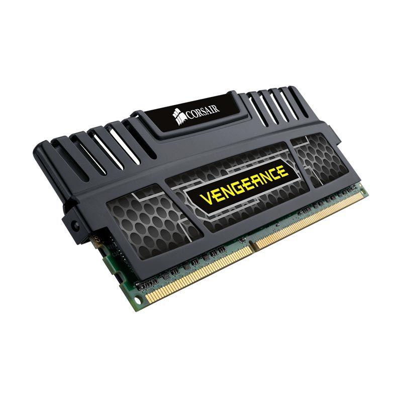 Corsair Vengeance DDR3 CMZ8GX3M1A1600C9 Black Memory RAM [8 GB]