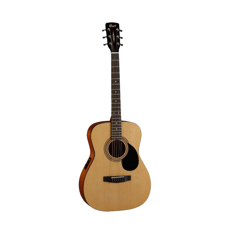 harga Cort Electric Acoustic Guitar AF510E OP Natural Satin Blibli.com