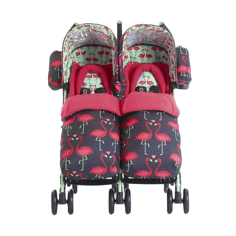 harga Cosatto Supa Dupa 2970 Flamingo Fling Twin Pushchair Kereta Dorong Bayi Blibli.com
