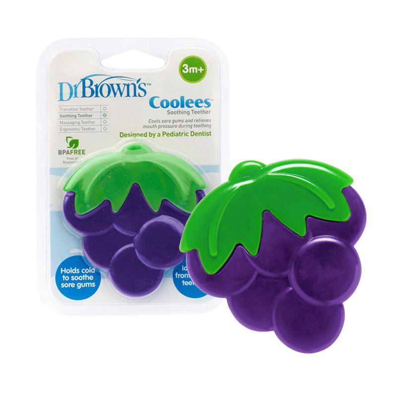 DrBrown's Soothing Teether Coolees Grape Mainan Bayi