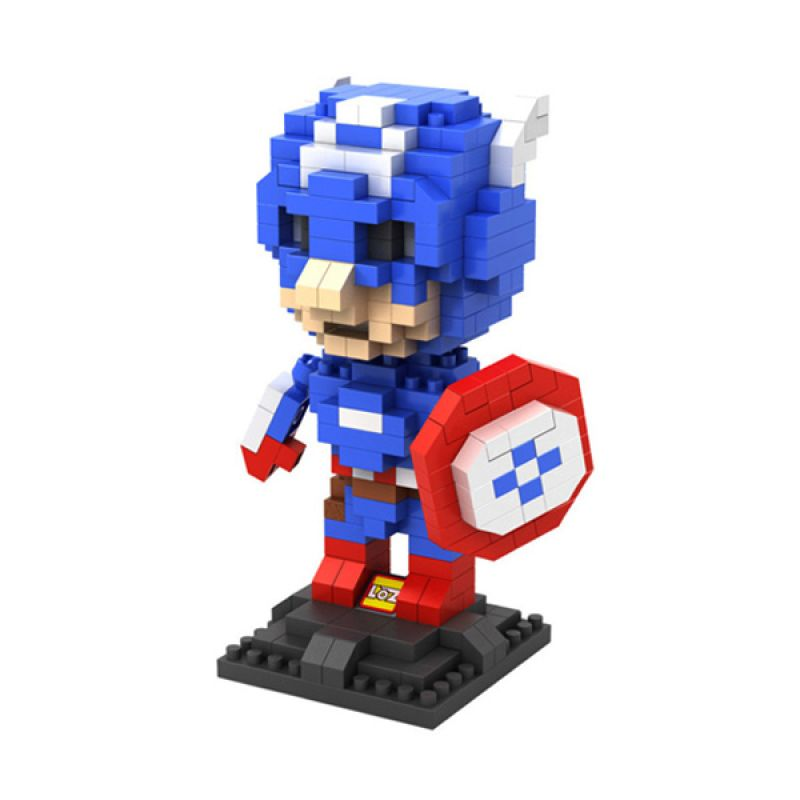 Loz Captain America Diamond 9452 Mainan Block dan Puzzle [Large]
