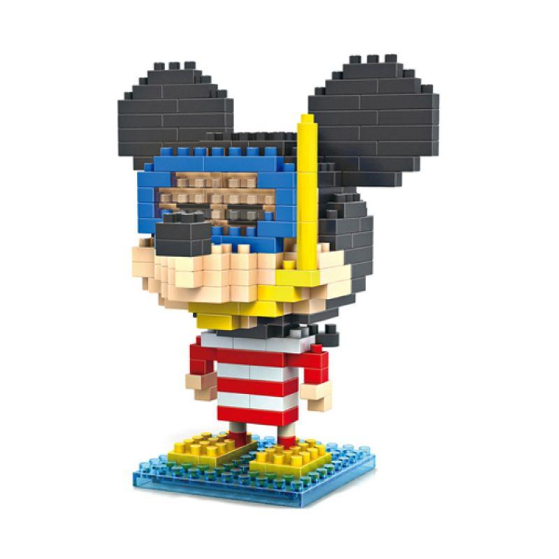 Loz Diver Mickey Diamond 9422 Mainan Block dan Puzzle [Large]