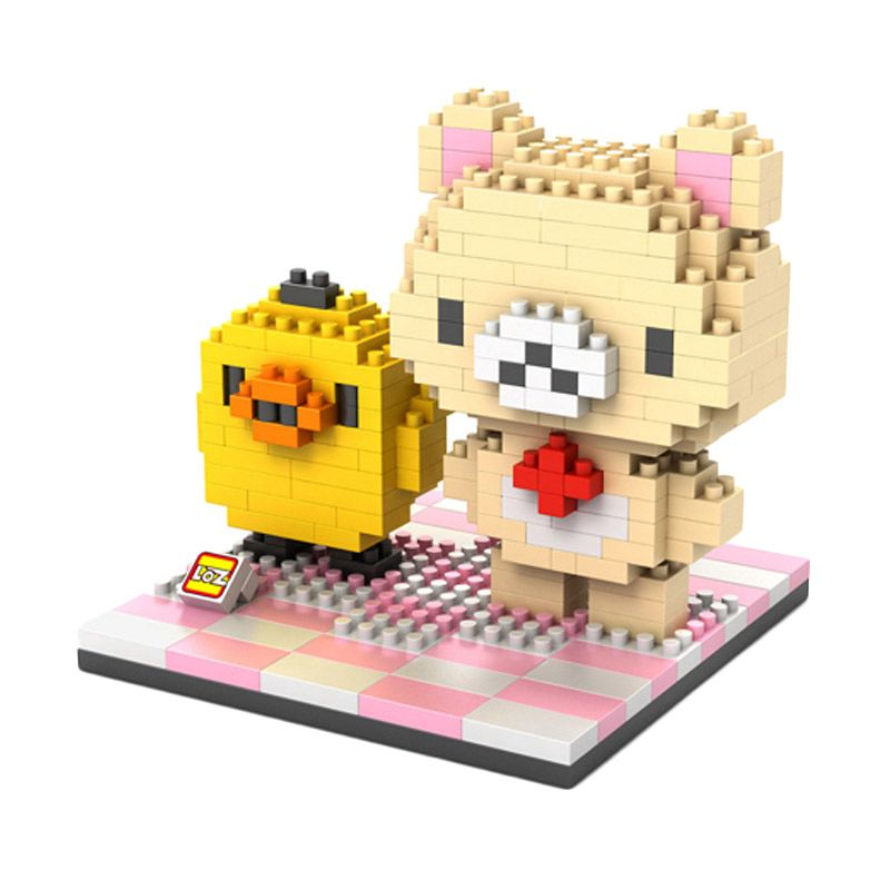 Loz Gift Cuckoo Chicken 9436 Diamond Mainan Blok dan Puzzle [Large]