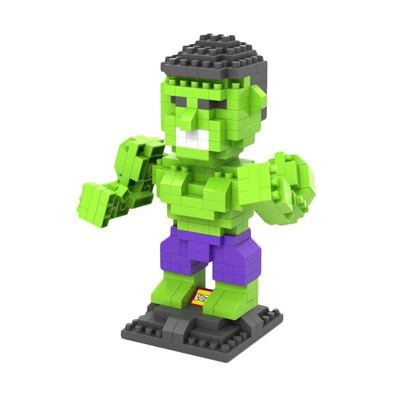 Loz Gift Hulk 9451 Diamond Mainan Blok dan Puzzle [Large]