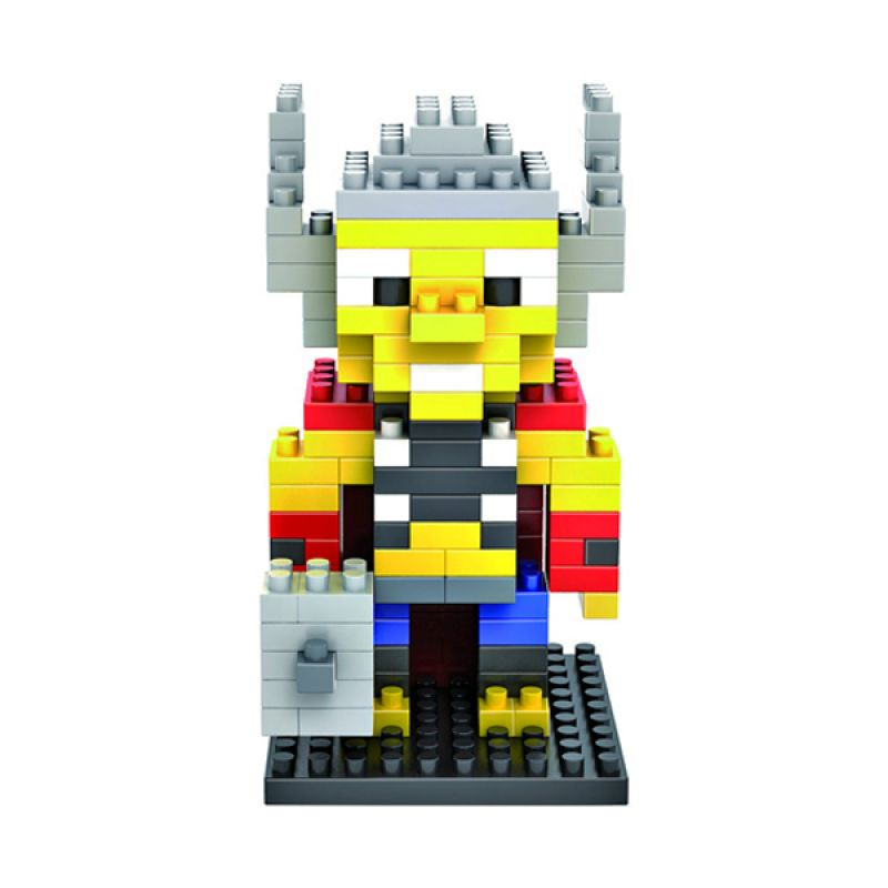 LOZ Gift Medium 9157 Thor Diamond Blocks Mainan Blok & Puzzle