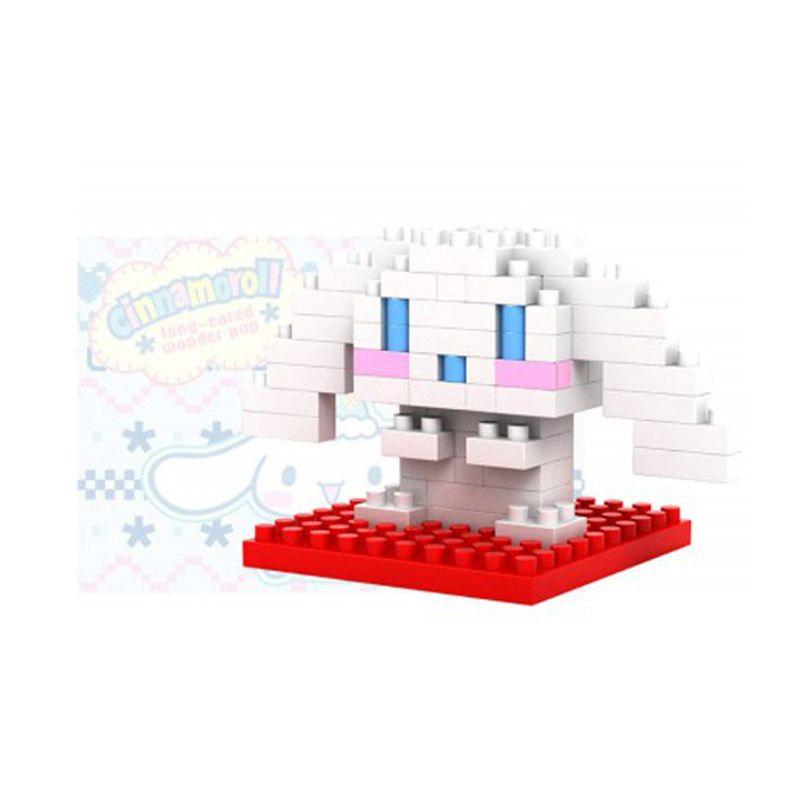 Loz Gift Series Lovely Girls Cinna 9102 Diamond Small Mainan Blok dan Puzzle [Small]