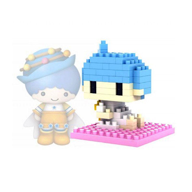Loz Gift Series Lovely Girls Kiki 9104 Diamond Small Mainan Blok dan Puzzle [Small]