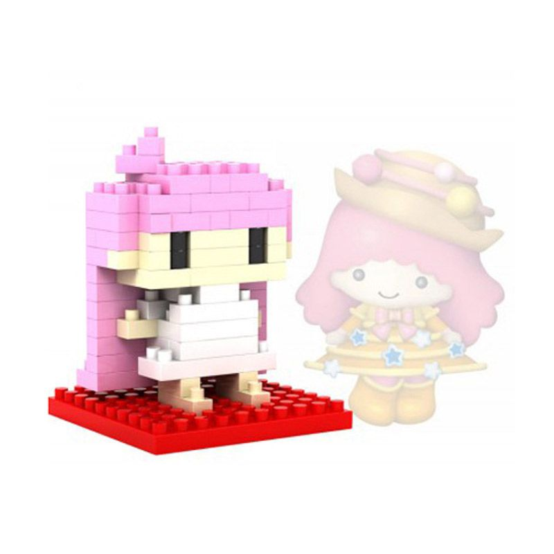 Loz Gift Series Lovely Girls Lala 9105 Diamond Small Mainan Blok dan Puzzle [Small]