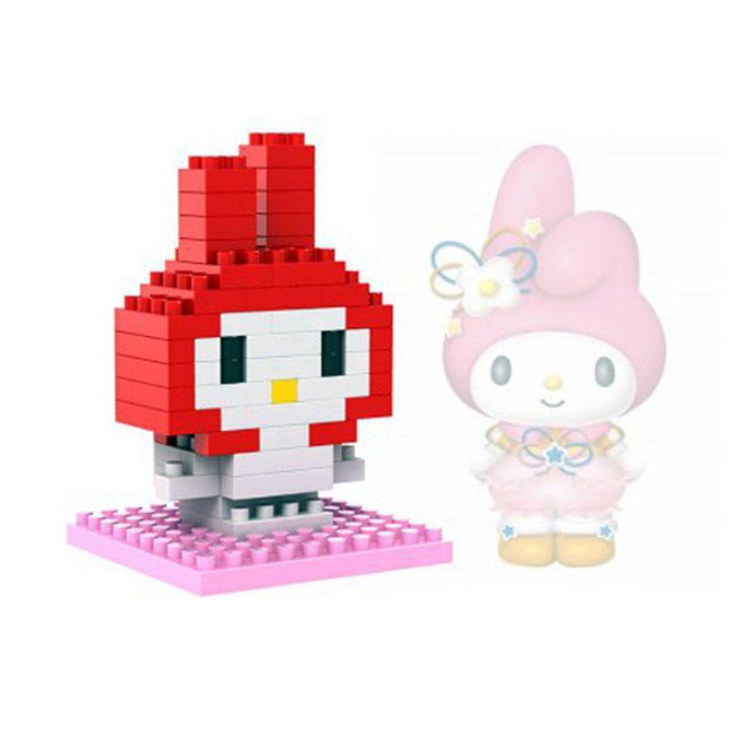 Loz Gift Series Lovely Girls Melody 9103 Diamond Small Mainan Blok dan Puzzle [Small]