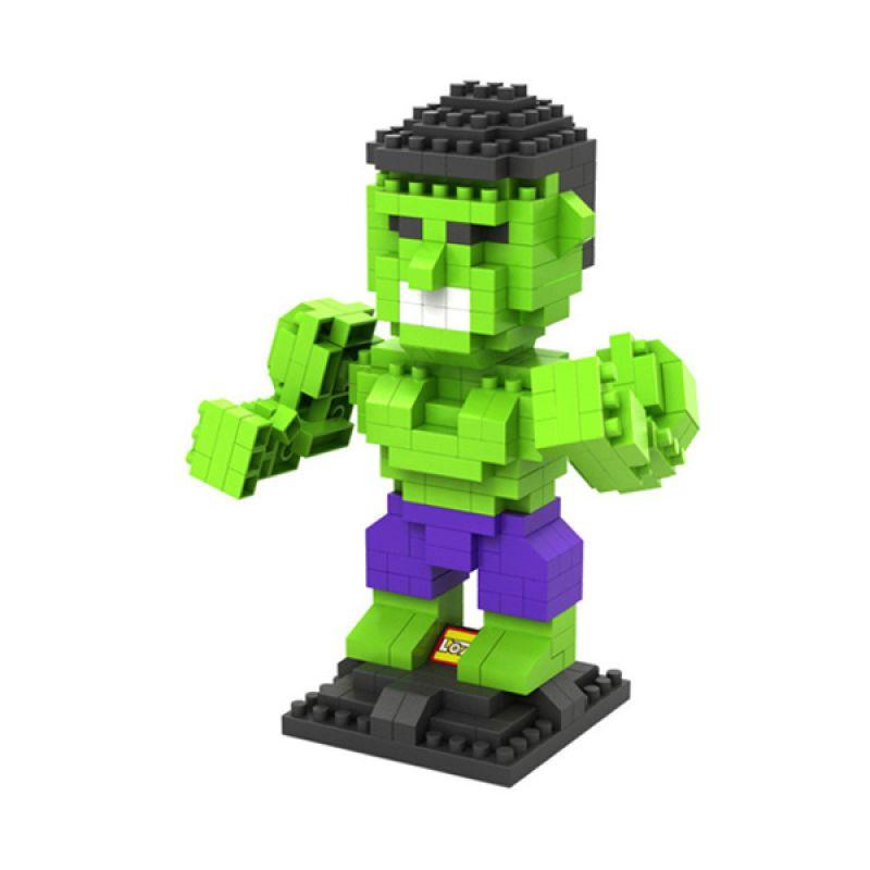 Loz Hulk Diamond 9451 Mainan Block dan Puzzle [Large]