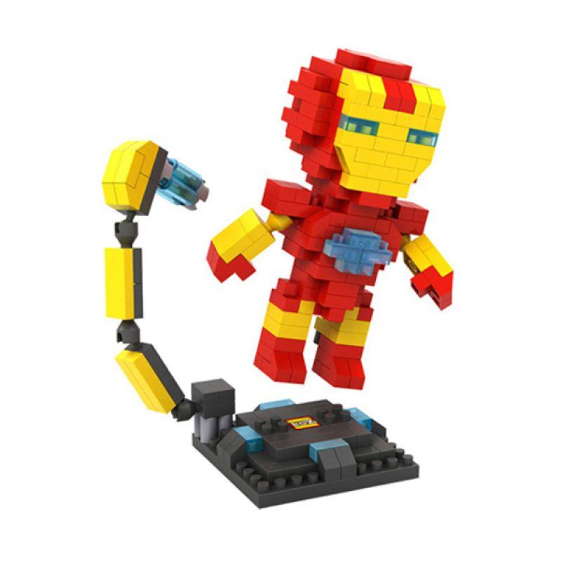 Loz Iron Man Diamond 9447 Mainan Block dan Puzzle [Large]
