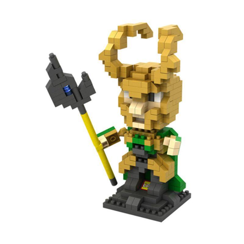 Loz Loki Diamond 9449 Mainan Block dan Puzzle [Large]